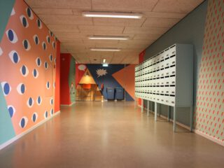 Gangen Fontys Hogeschool Communicatie