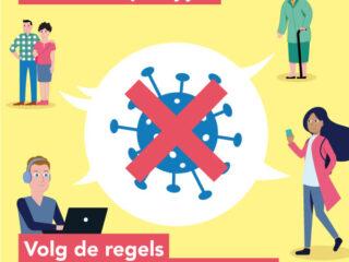 Corona stopt bij jou campagne - GGD Brabant-Zuidoost